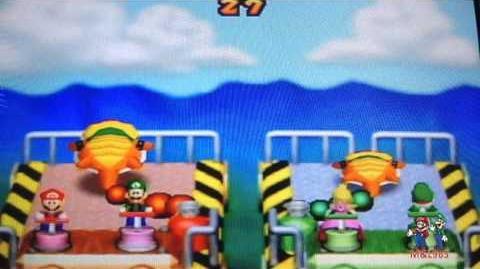 Mario Party 2 Minigame Balloon Burst