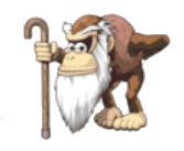 Cranky Kong Sticker