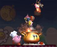Kirby Usando su Smash Final SSBB