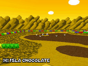 MKDS Choco Island 2