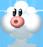 NSMBW Sprite Nebel-Wolke