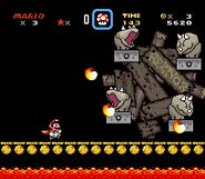 Reznor Battle - Super Mario World
