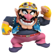 SSB4 Artwork Wario