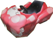 Corps Turboruban rose