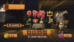 DKCR Screenshot Cranky Kongs Laden