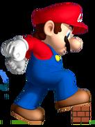 NSMB Artwork Maxi-Mario