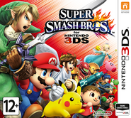 Super Smash Bros for Nintendo 3DS Russia boxart