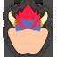 Icône Bowser bleu Ultimate