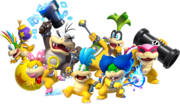 Koopalings, New Super Mario Bros U