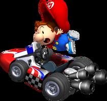 Baby Mario Artwork - Mario Kart Wii