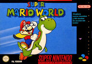 Super Mario World box art