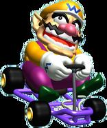 Wario Artwork - Mario Kart 64