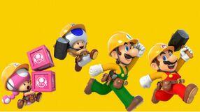 Builder Mario Troupe