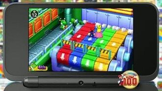 Mario Party The Top 100 Mario and Friends Available Now 3DS 30 US TV Commercial