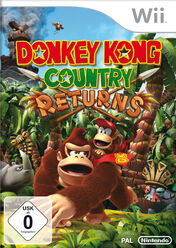 Verpackung Donkey Kong Country Returns D
