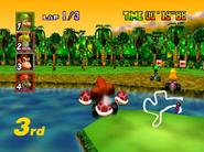 DK's Jungle Parkway - Big Jump - Mario Kart 64