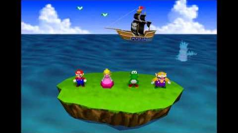 Mario Party Minigames - Bombs Away
