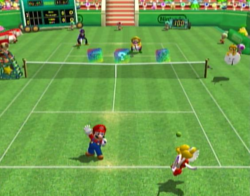 Mario Power Tennis Modos