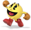 SSBU-Pac-Man