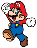 Super Mario Logo Officiel