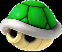 Carapace Verte Mario Kart Wii