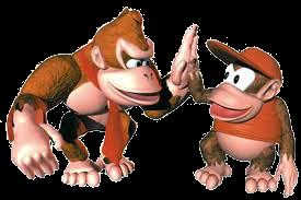 Donkey Kong et Diddy Kong - DKC