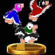Duo Duck Hunt - SSBWiiU (trophée - canards)
