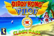 Main Menu - Clock Race - Diddy Kong Pilot (2001)
