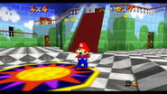 Princess Peach's Castle Inside SM64