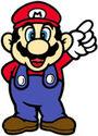 SML Artwork Mario