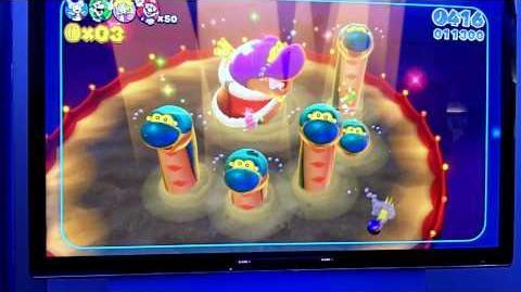 Super Mario 3D World - World 4 Boss Gameplay Footage (E3 2013 Wii U)