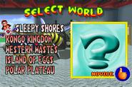 World Select - Garage Theme - Diddy Kong Pilot (2001)