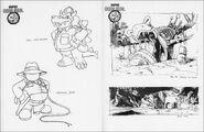 Conception Super Mario Bros. - Les aventures du champignon perdu