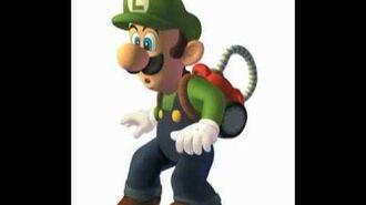 Luigi's Mansion - Luigi's Voices