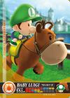 Carte amiibo Bébé Luigi course équestre