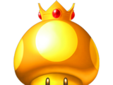 Goldener Turbo-Pilz