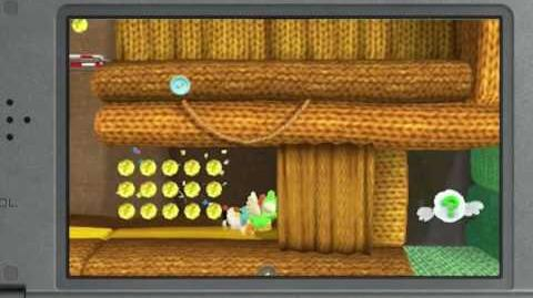Poochy & Yoshi's Woolly World Revealed (3DS)