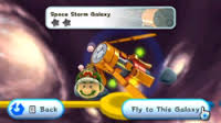 Space Storm Galaxy