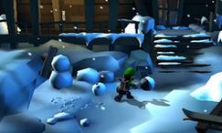 LM2 Screenshot Schneepfad
