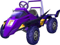 MKDD Waluigi Racer