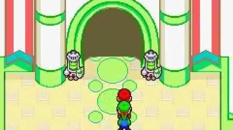 Mario & Luigi Superstar Saga-Ingreso al castillo Judia