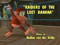 Raiders of the Lost Banana