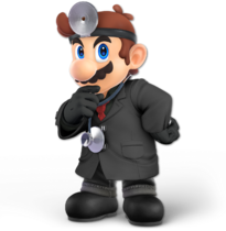 Art Dr. Mario noir Ultimate