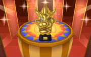 Bowser X Trophy