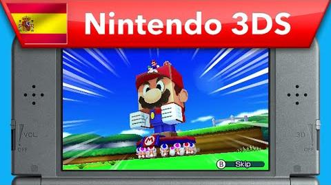 Mario & Luigi Paper Jam Bros. - Tráiler E3 2015 (Nintendo 3DS)