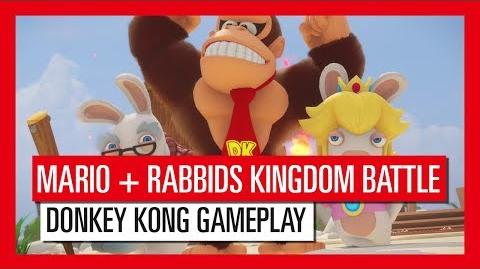 Mario Rabbids Kingdom Battle Donkey Kong Adventure Gameplay-Trailer