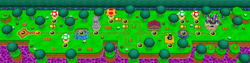 World 4 - Map View - New Super Mario Bros