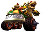 MKDD Artwork Bowser & Bowser Jr.