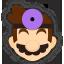Icône Dr. Mario violet Ultimate
