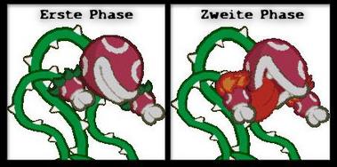 Lava-Piranha Unterschiede